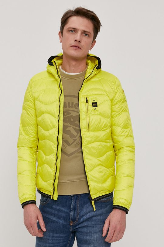žlutá Blauer - Péřová bunda