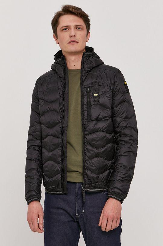 černá Blauer - Péřová bunda Pánský