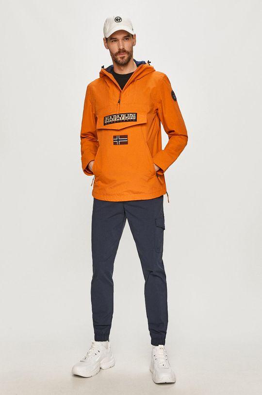 Napapijri - Bunda oranžová