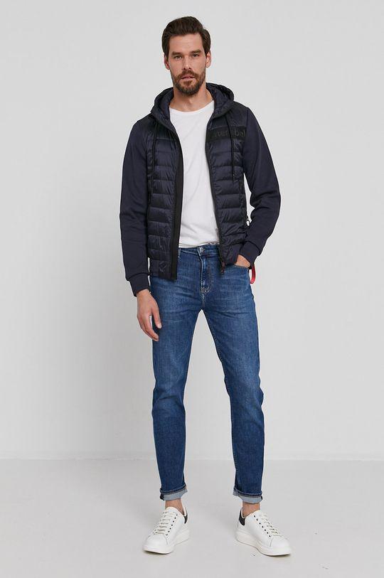 After Label - Péřová bunda námořnická modř