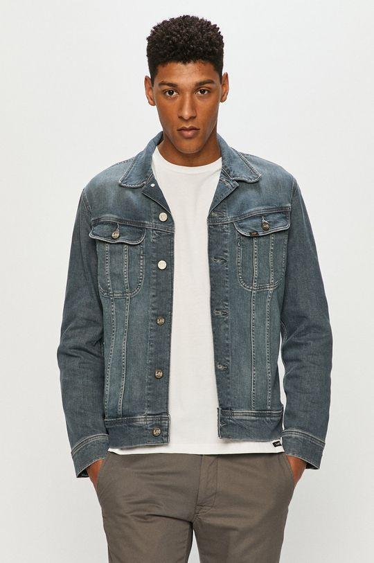 jasny niebieski Lee - Kurtka jeansowa Męski