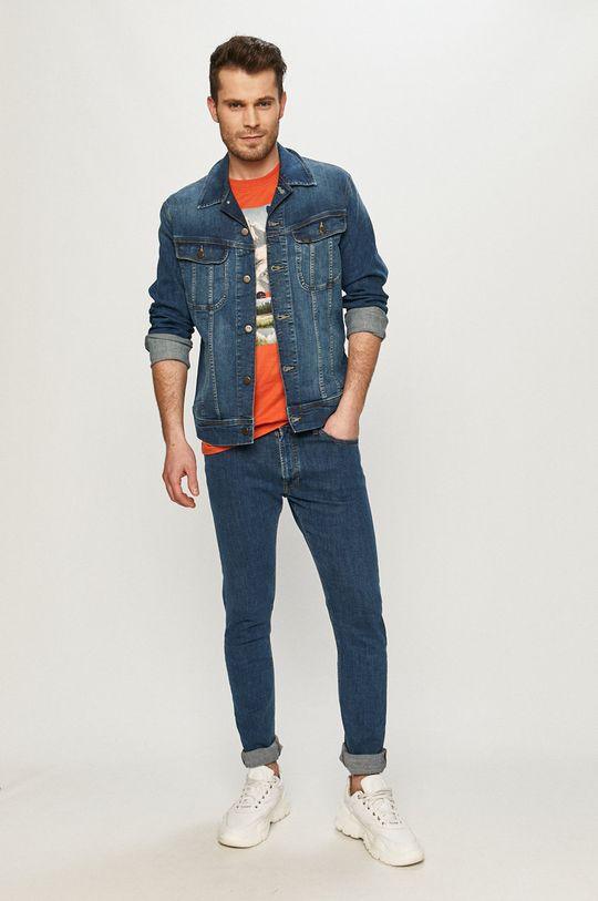 Lee - Kurtka jeansowa granatowy