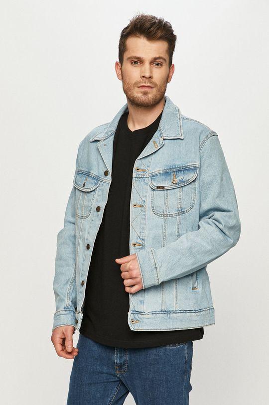 světle modrá Lee - Džínová bunda Pánský