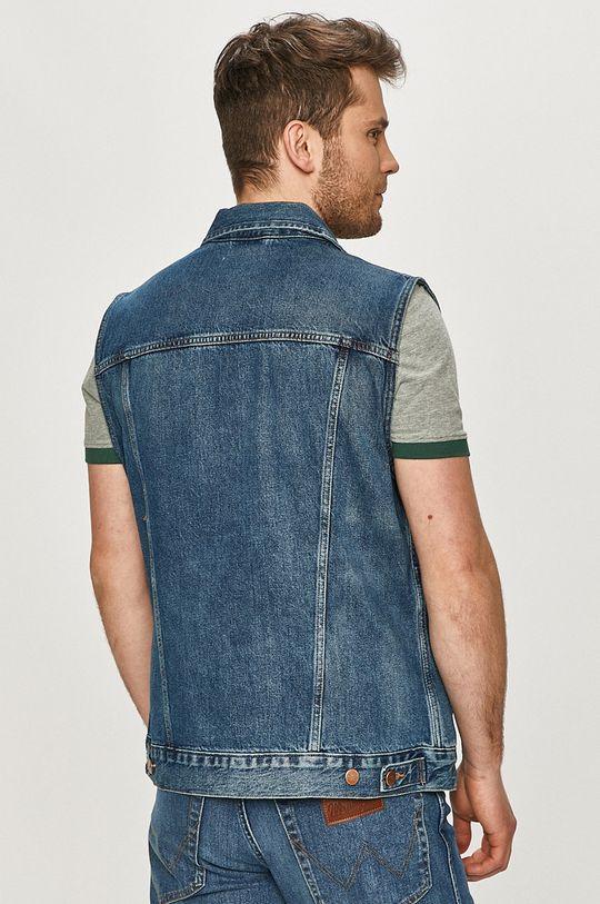 Wrangler - Bezrękawnik jeansowy 100 % Bawełna