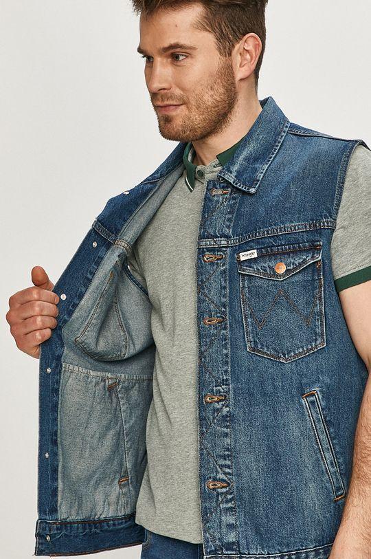 Wrangler - Bezrękawnik jeansowy