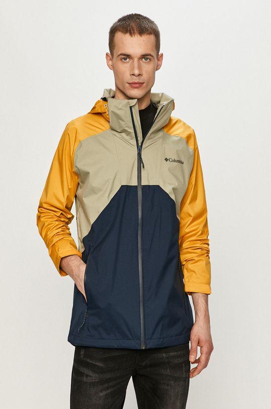 žlutá Columbia - Nepromokavá bunda Pánský