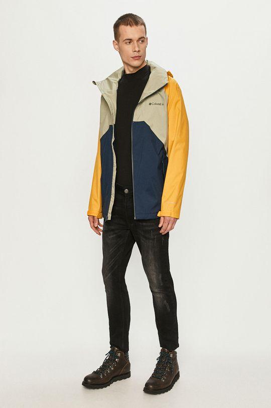 Columbia - Nepromokavá bunda žlutá