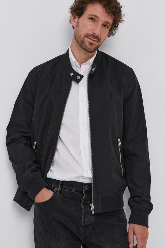 černá AllSaints - Oboustranná bunda Pánský