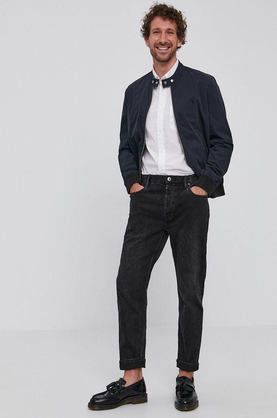 AllSaints - Oboustranná bunda černá