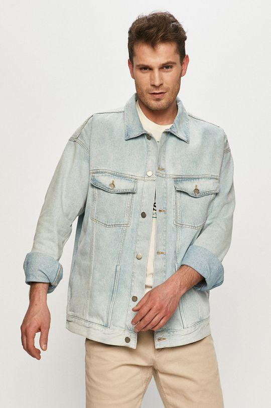 blady niebieski Dr. Denim - Kurtka jeansowa Męski