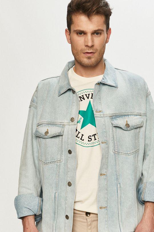 blady niebieski Dr. Denim - Kurtka jeansowa