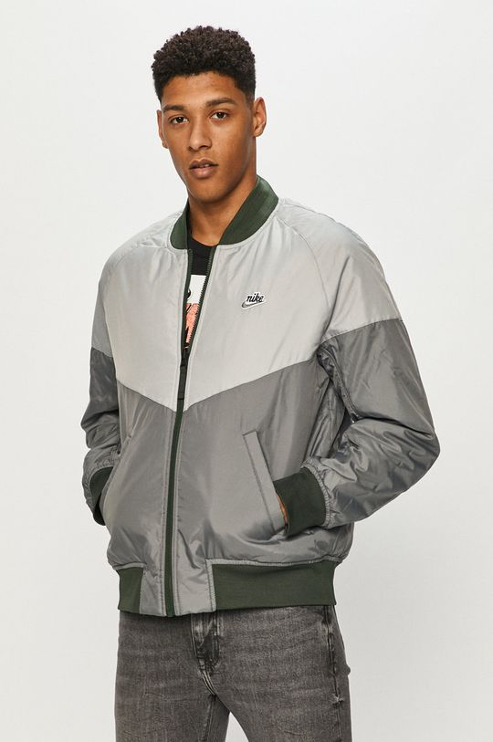 zielony Nike Sportswear - Kurtka bomber Męski
