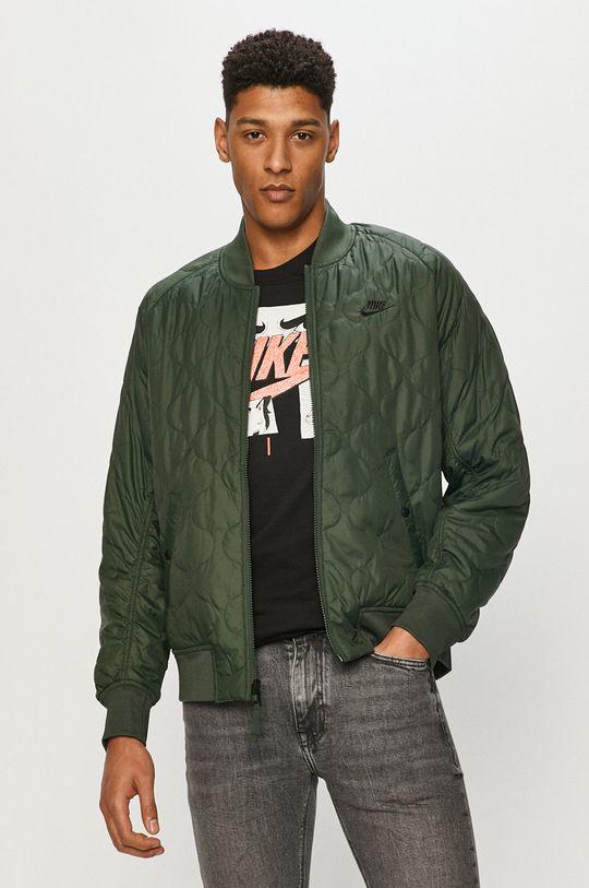 Nike Sportswear - Kurtka bomber zielony