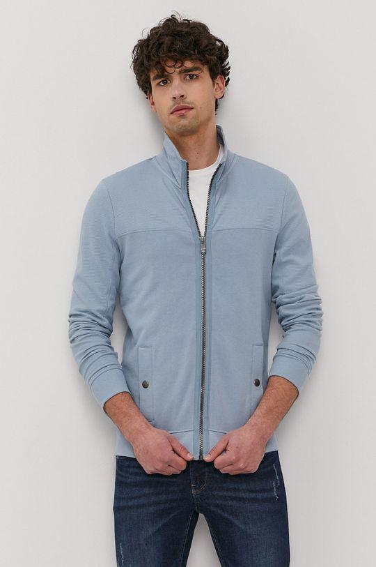niebieski Tom Tailor - Bluza bawełniana Męski