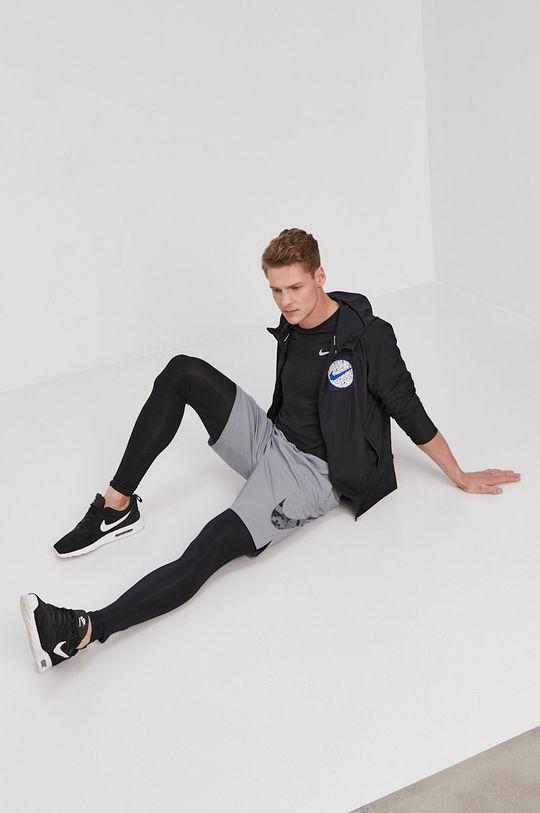 czarny Nike - Kurtka Męski
