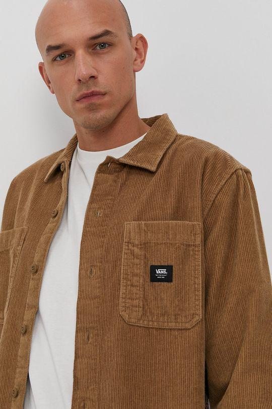 złoty brąz Vans - Koszula bawełniana
