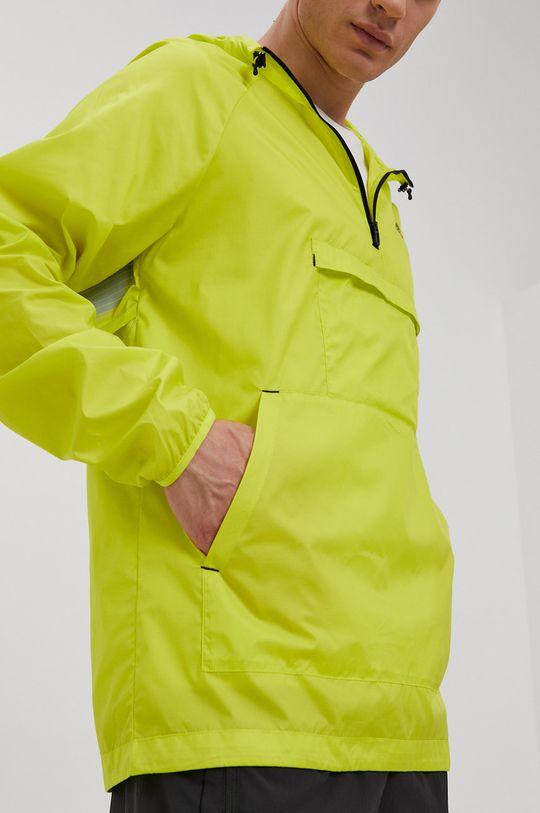 żółto - zielony adidas - Kurtka