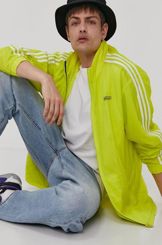 żółty adidas Originals - Kurtka dwustronna Męski