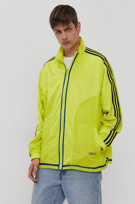 adidas Originals - Kurtka dwustronna żółty