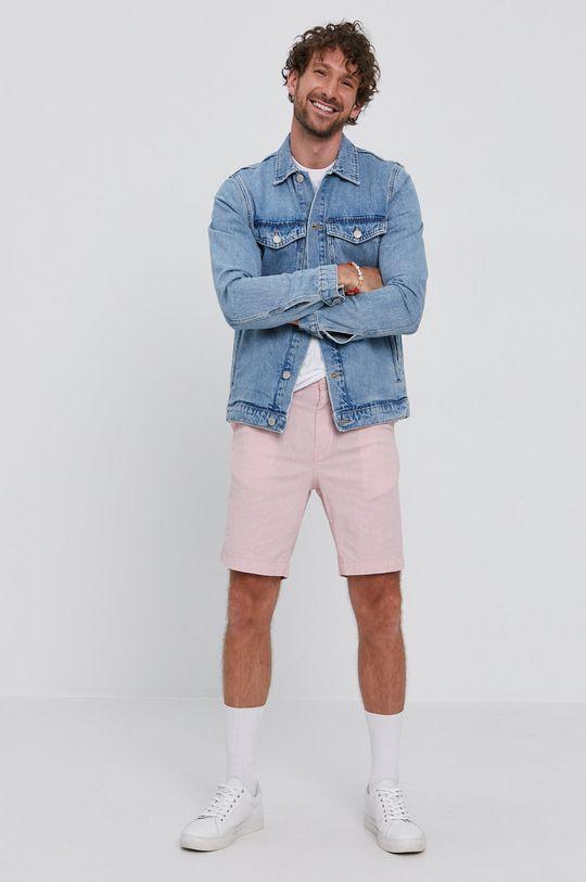 Selected - Kurtka jeansowa niebieski
