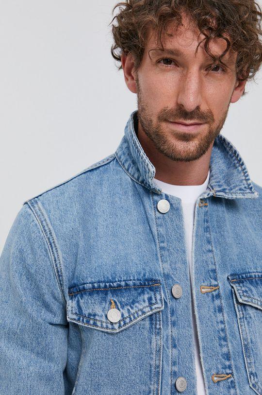 niebieski Selected - Kurtka jeansowa