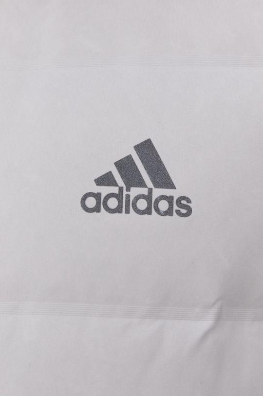 světle šedá adidas Performance - Péřová bunda