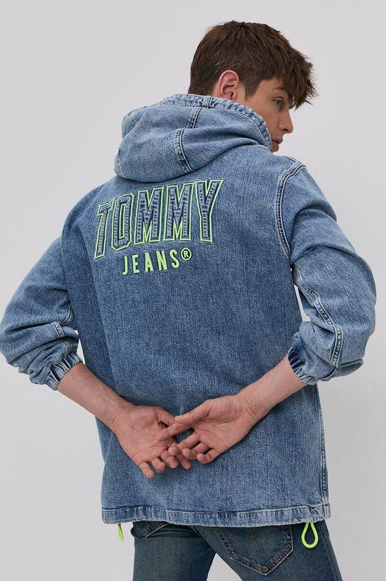 modrá Tommy Jeans - Džínová bunda Pánský