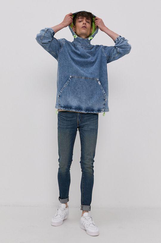 Tommy Jeans - Džínová bunda modrá