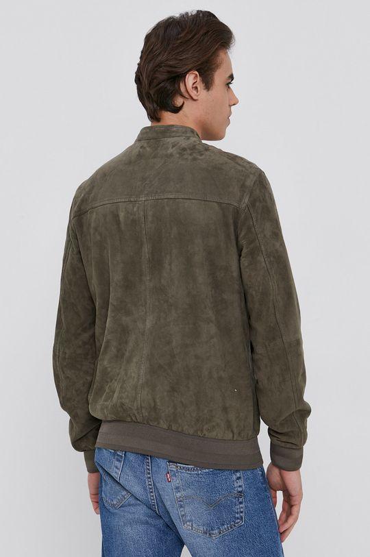 Sisley - Semišová bunda  Podšívka: 55% Polyester, 45% Viskóza Hlavní materiál: 100% Kozí kůže