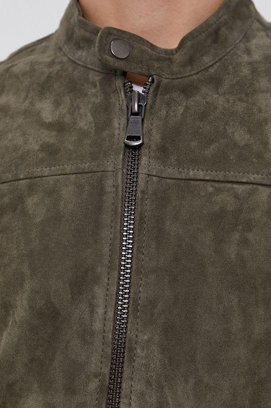 Sisley - Semišová bunda Pánský