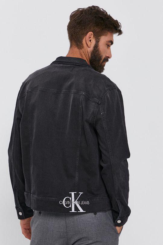 Calvin Klein Jeans - Džínová bunda  94% Bavlna, 1% Elastan, 5% Polyester