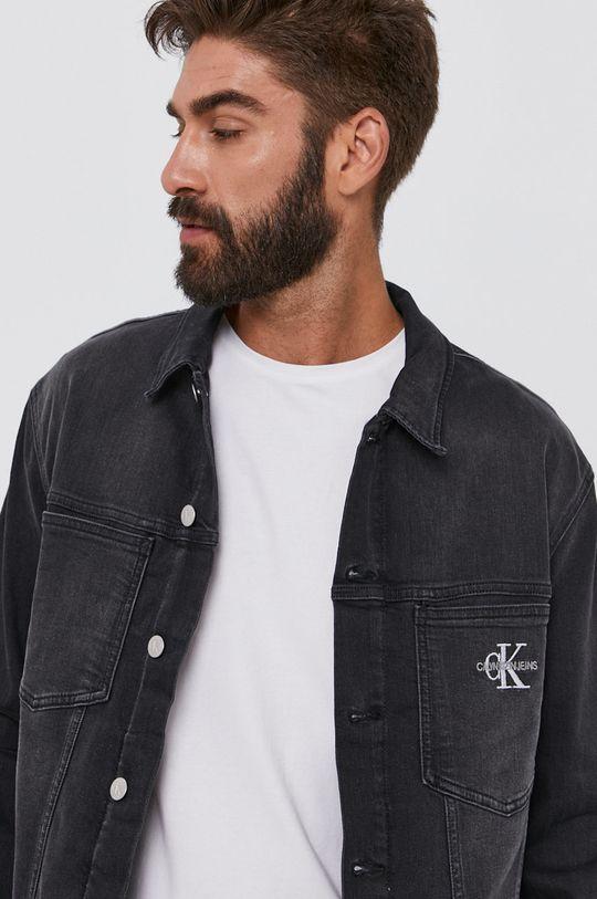 černá Calvin Klein Jeans - Džínová bunda