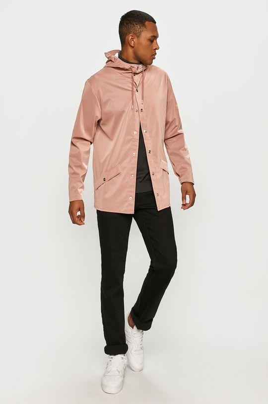 Rains - Geaca de ploaie roz pastelat