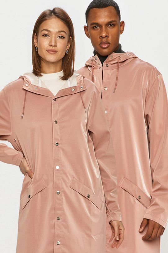 pastelová ružová Rains - Nepremokavá bunda Unisex