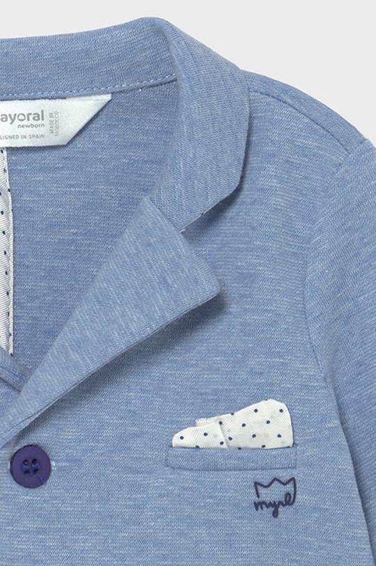 Mayoral Newborn - Sacou copii albastru pal