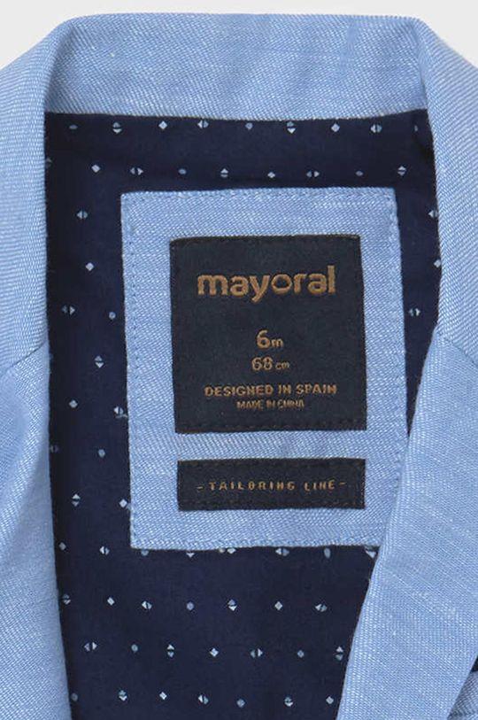 Mayoral - Marynarka dziecięca Podszewka: 35 % Bawełna, 65 % Poliester, Materiał zasadniczy: 90 % Bawełna, 10 % Len