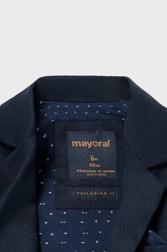 Mayoral - Detské sako  Podšívka: 35% Bavlna, 65% Polyester Základná látka: 90% Bavlna, 10% Ľan