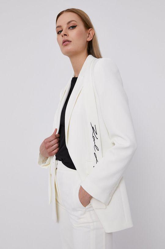 biały Karl Lagerfeld - Marynarka Damski