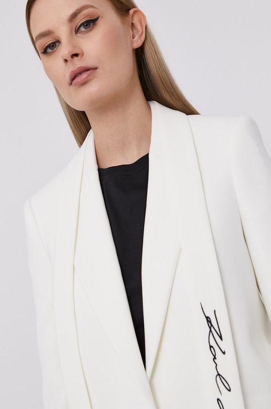 biały Karl Lagerfeld - Marynarka