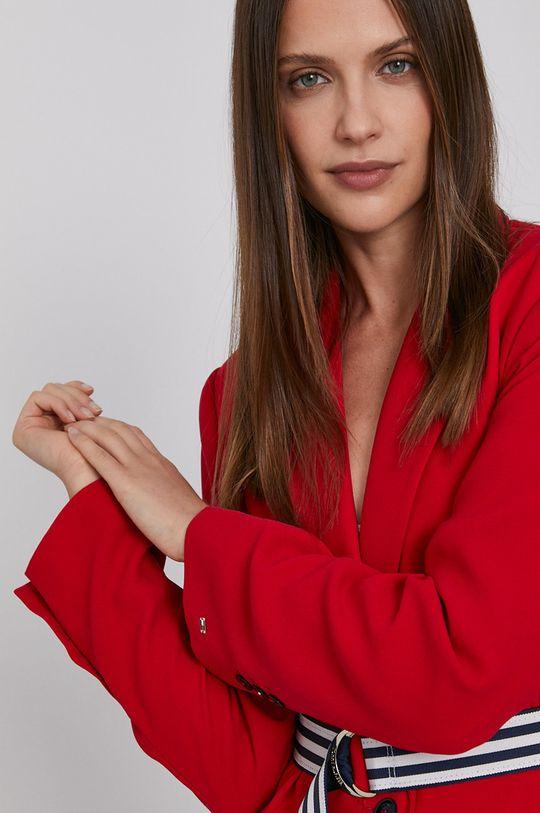 červená Tommy Hilfiger - Sako