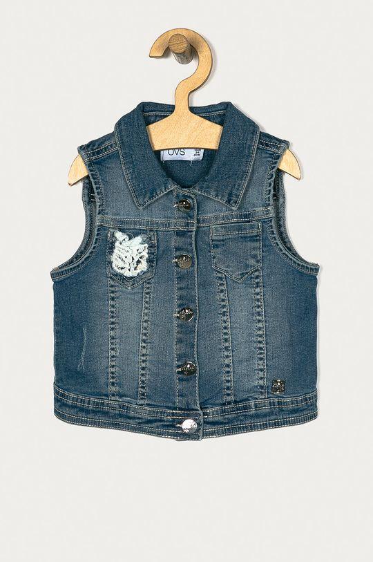 jasny niebieski OVS - Kamizelka jeansowa 104-134 cm Dziewczęcy