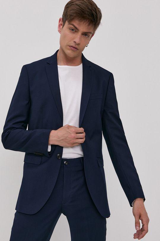 Premium by Jack&Jones - Oblek námořnická modř