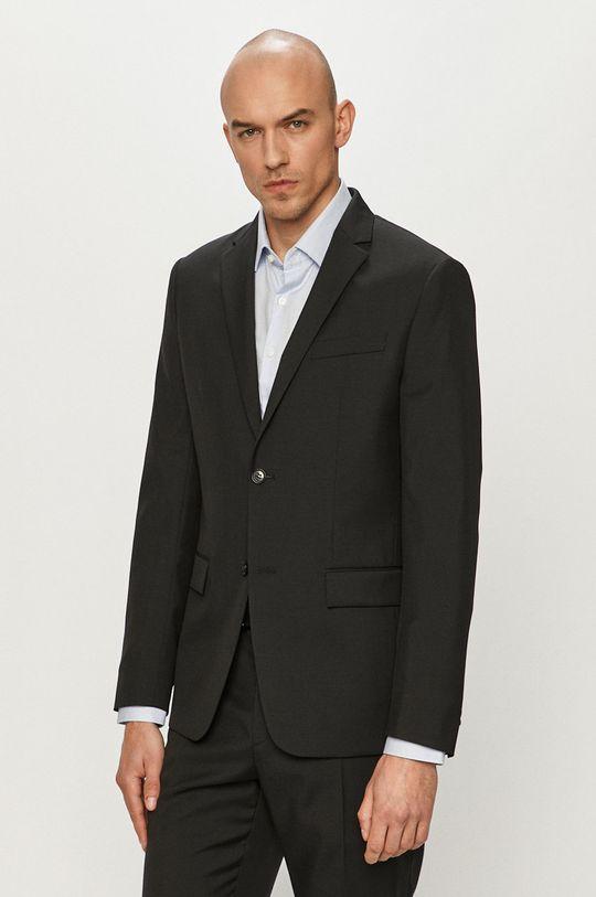 negru Calvin Klein - Sacou De bărbați