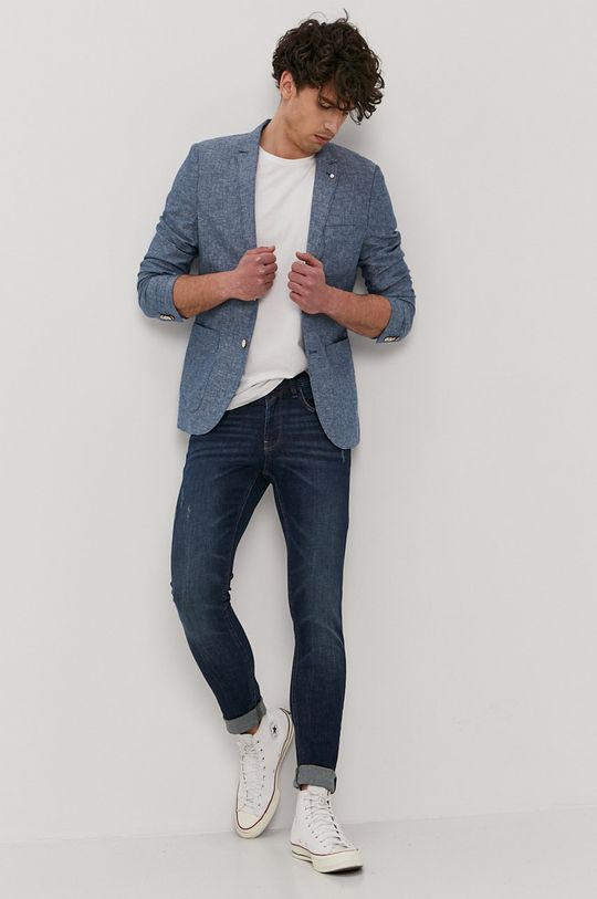 Tom Tailor - Marynarka niebieski