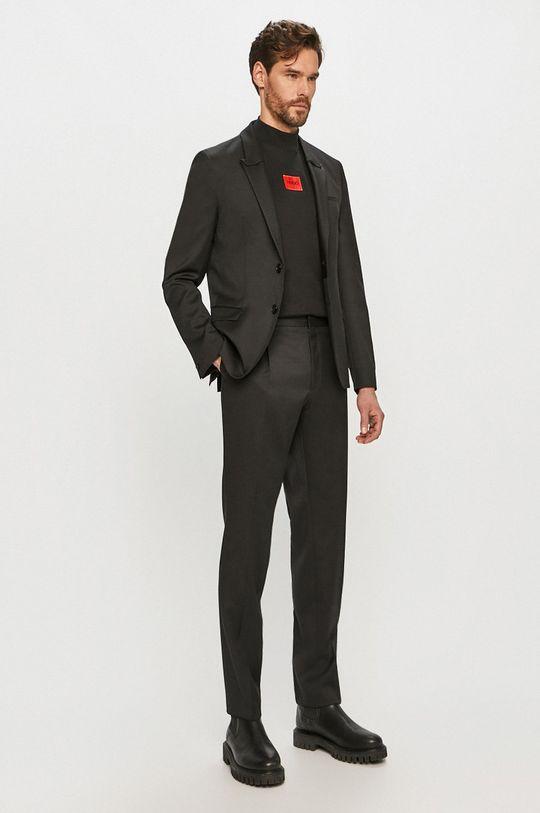 černá Hugo - Oblek Pánský