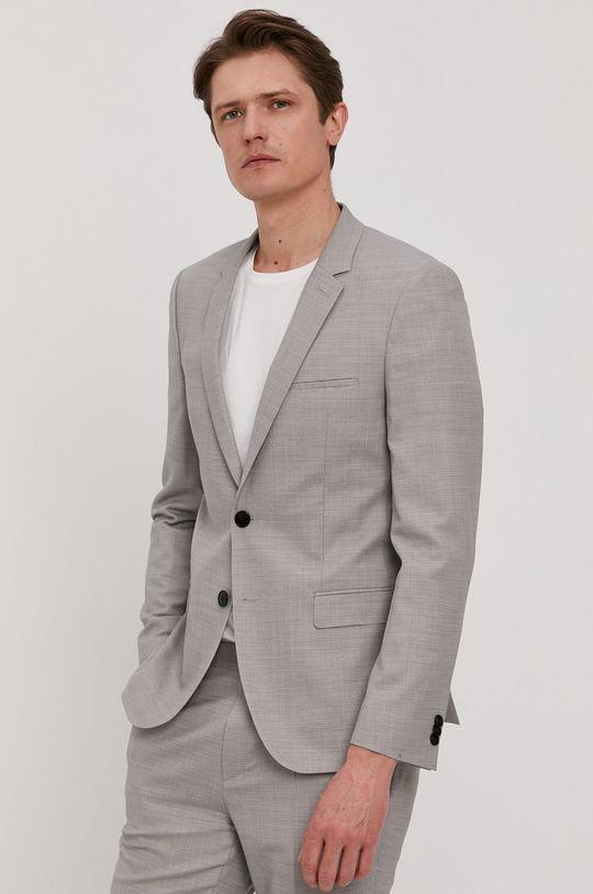 Hugo - Oblek světle šedá