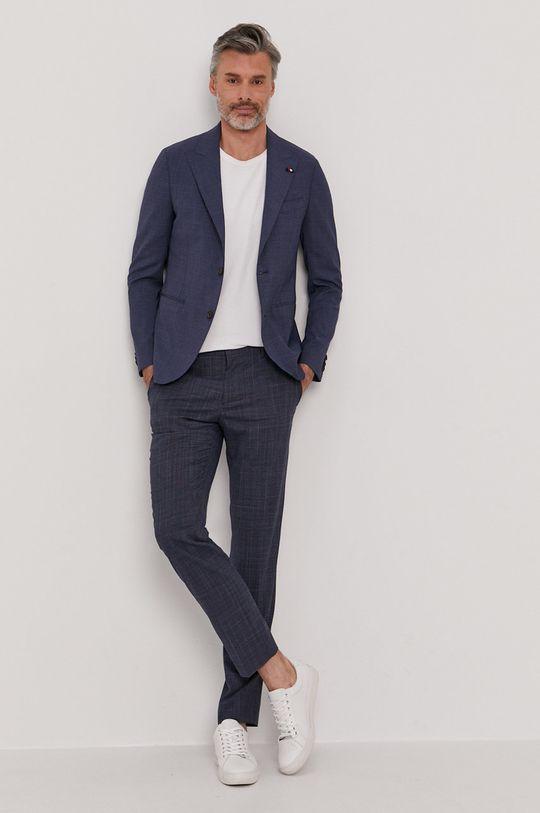 Tommy Hilfiger Tailored - Marynarka Podszewka: 100 % Poliester, Materiał zasadniczy: 2 % Elastan, 54 % Poliester, 44 % Wełna