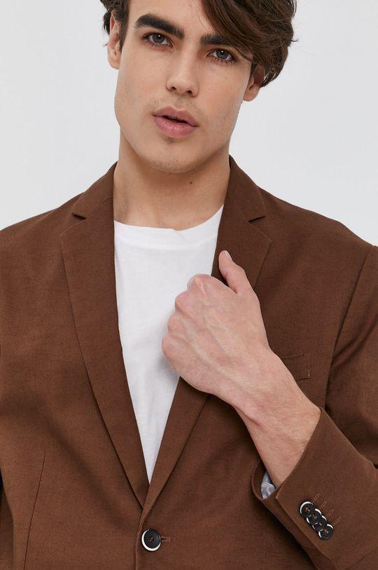 brązowy Sisley - Marynarka