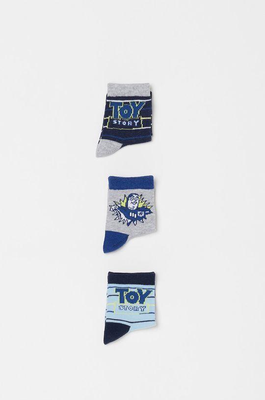 fialová OVS - Dětské ponožky (3-pack) Chlapecký