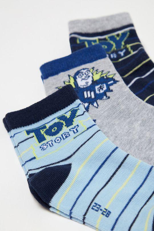 OVS - Dětské ponožky (3-pack) fialová